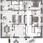 Raumkonzept und Planung zweier Wohnungen