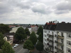 Aussicht vom Dachgeschoss